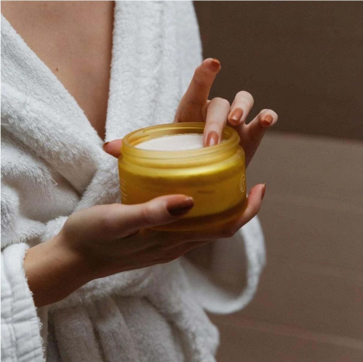 Coco Lemon Aromatherapy Body Polish - Flow Cosmetics-3