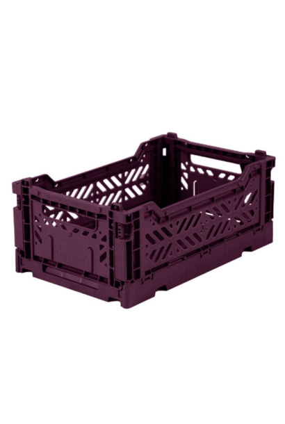Folding crate Purple - Small