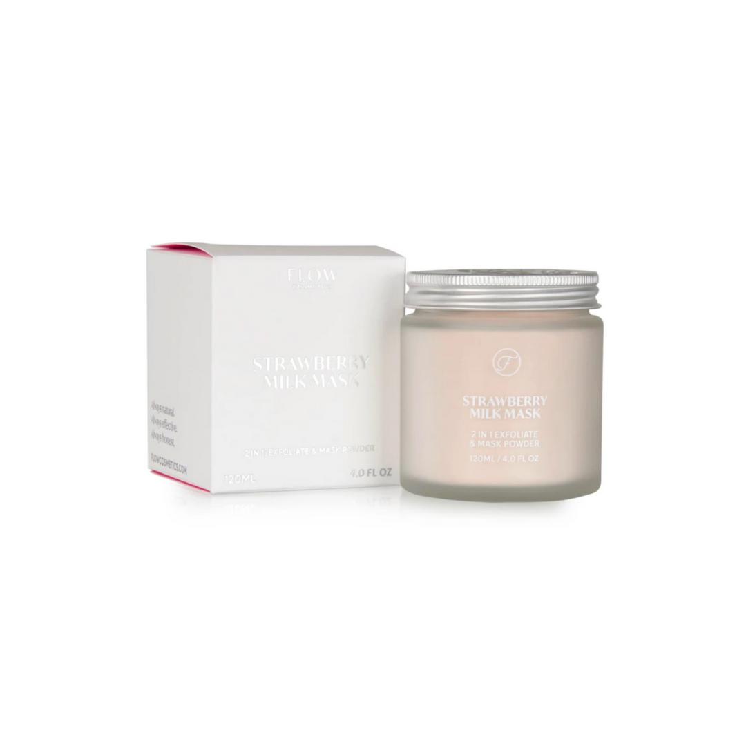 Strawberry Milk Mask -2 in 1- Flow Cosmetics-1