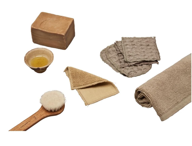 Set Wasdoekjes - Clay -  The Organic Company-3
