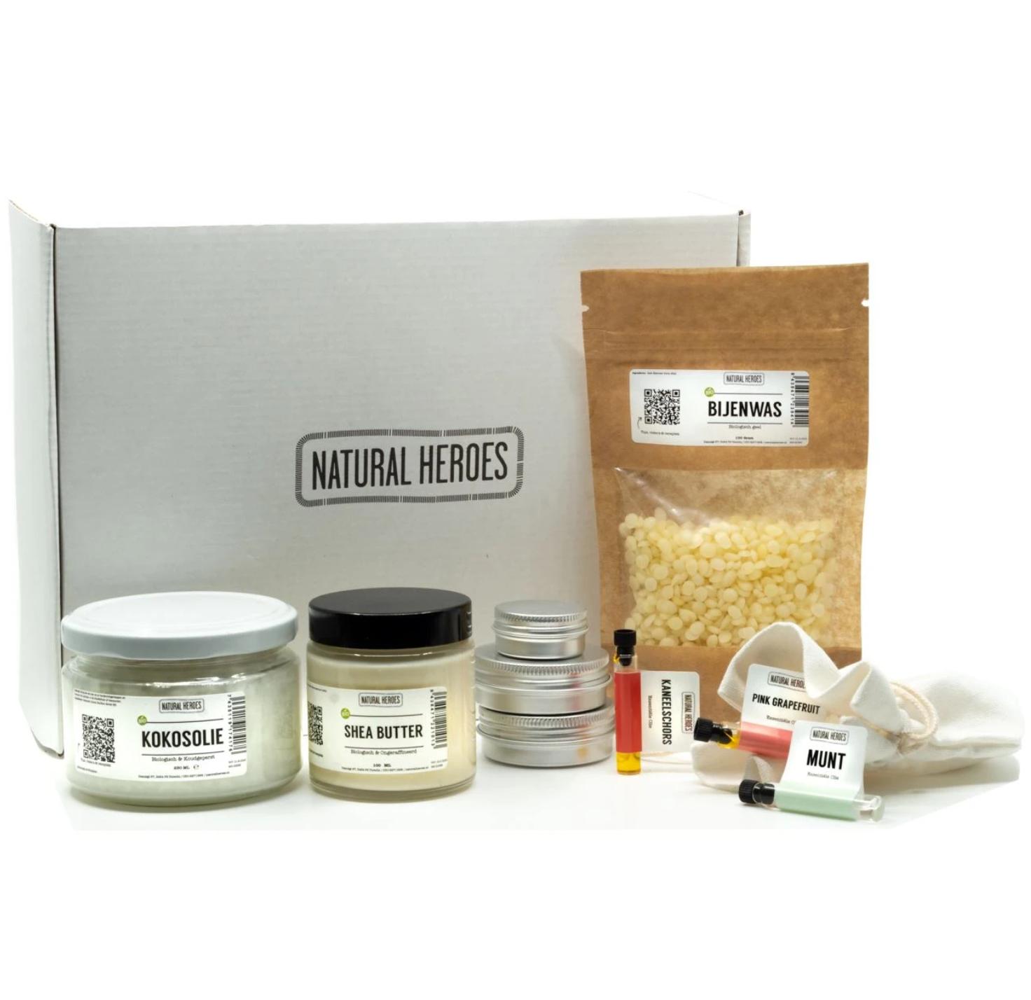 DIY Pakket Lippenbalsem - Natural Heroes-1