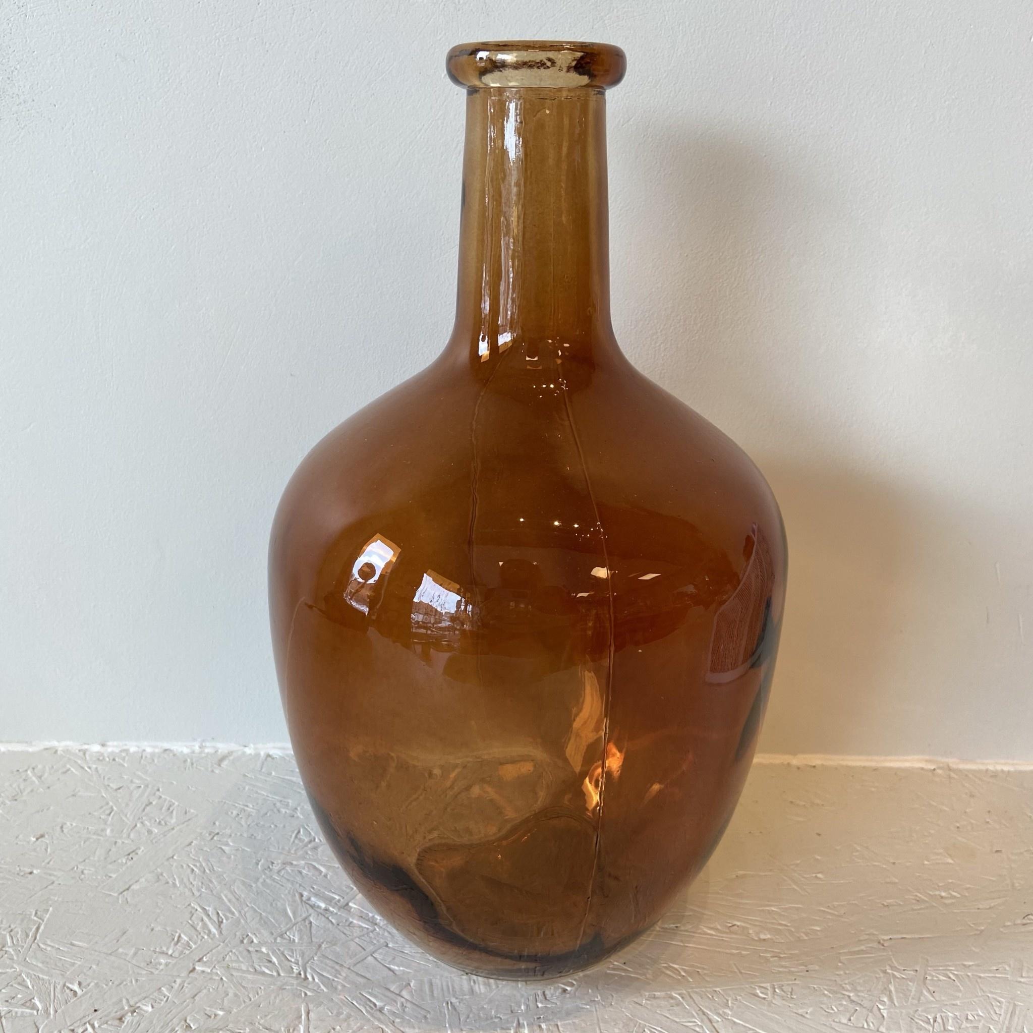 Jeanne Dame vase Amber M - Atelier Olala-1