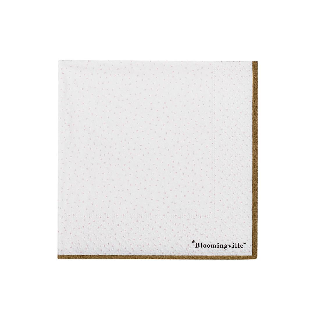 Gestipte Servetten - Bloomingville-1