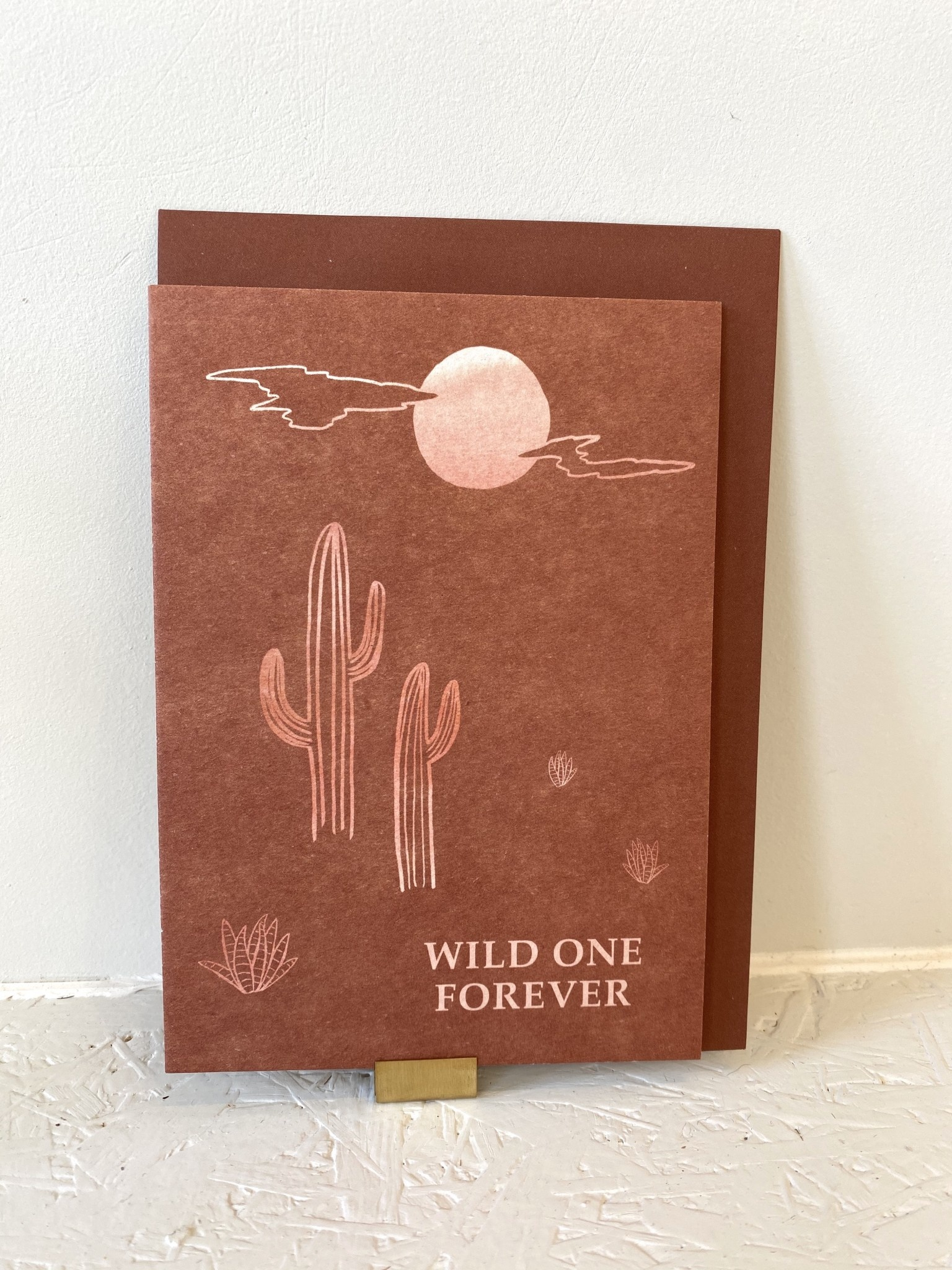 Kaartje Wild One Forever - Anna Cosma-2