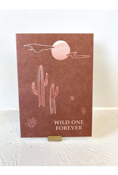 Kaartje Wild One Forever