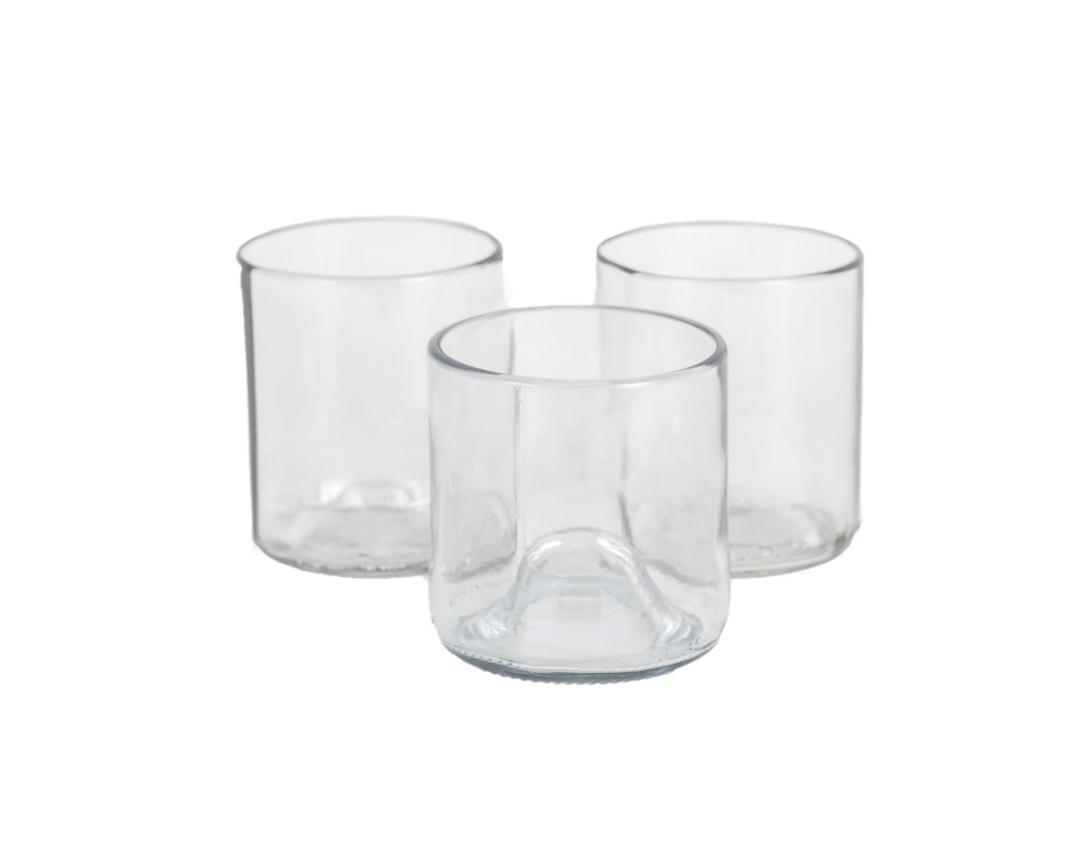 Set Glas Transparant S - Gerecycleerd - Original Home-2