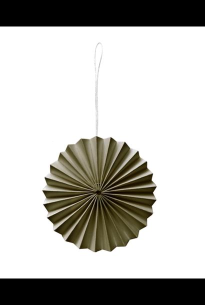 Paper Ornament Moss Green
