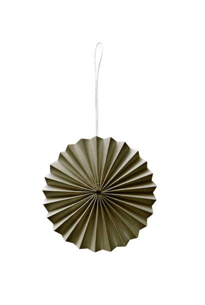 Papieren Ornament Mosgroen