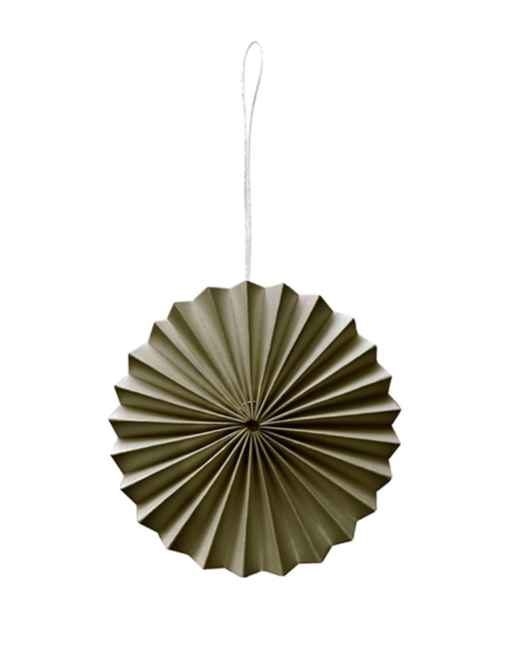 Papieren Ornament Mosgroen - Delight Department-1
