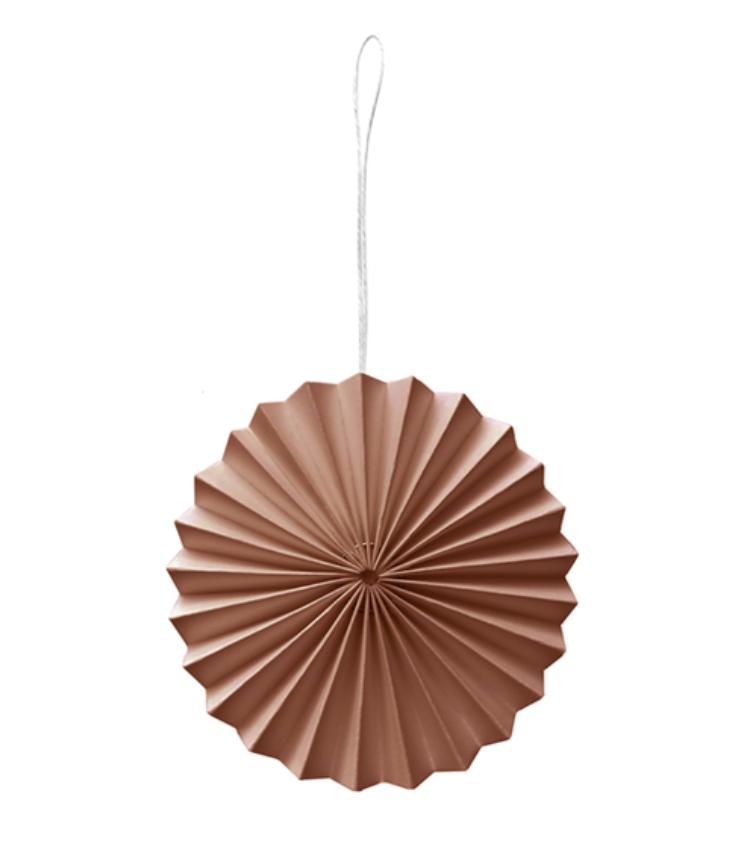 Papieren Ornament Poederroze - Delight Department-1