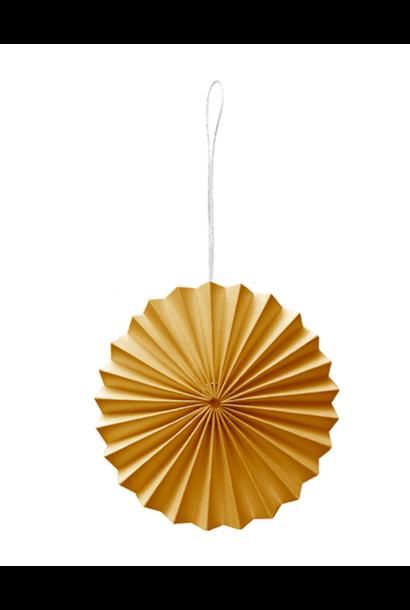 Papieren Ornament Zachtoranje