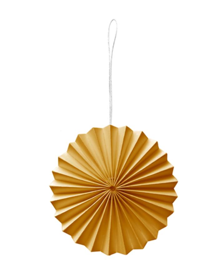 Papieren Ornament Zachtoranje - Delight Department-1