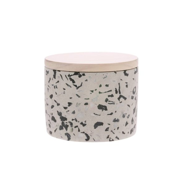 Soy Candle Coconut Flower - HK Living-1