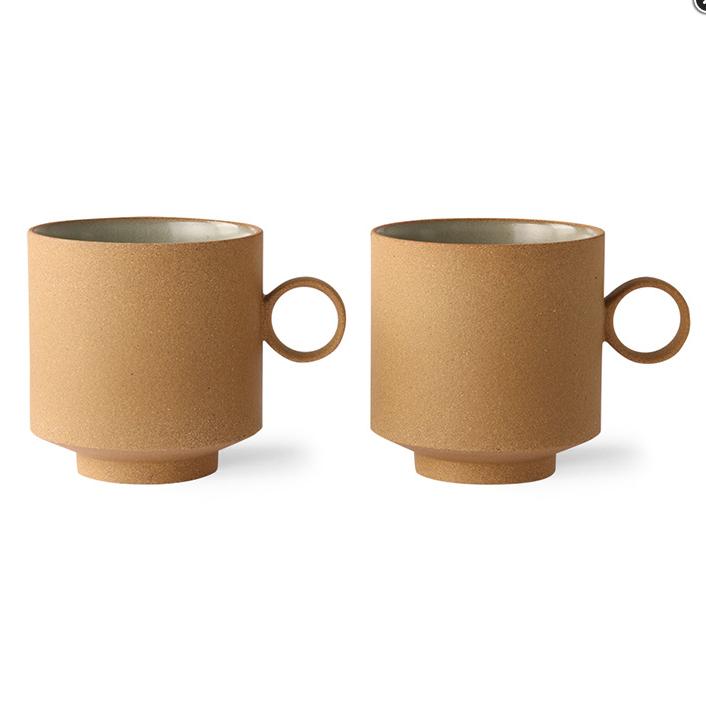 Koffie- Theetas Oker - HK Living-3