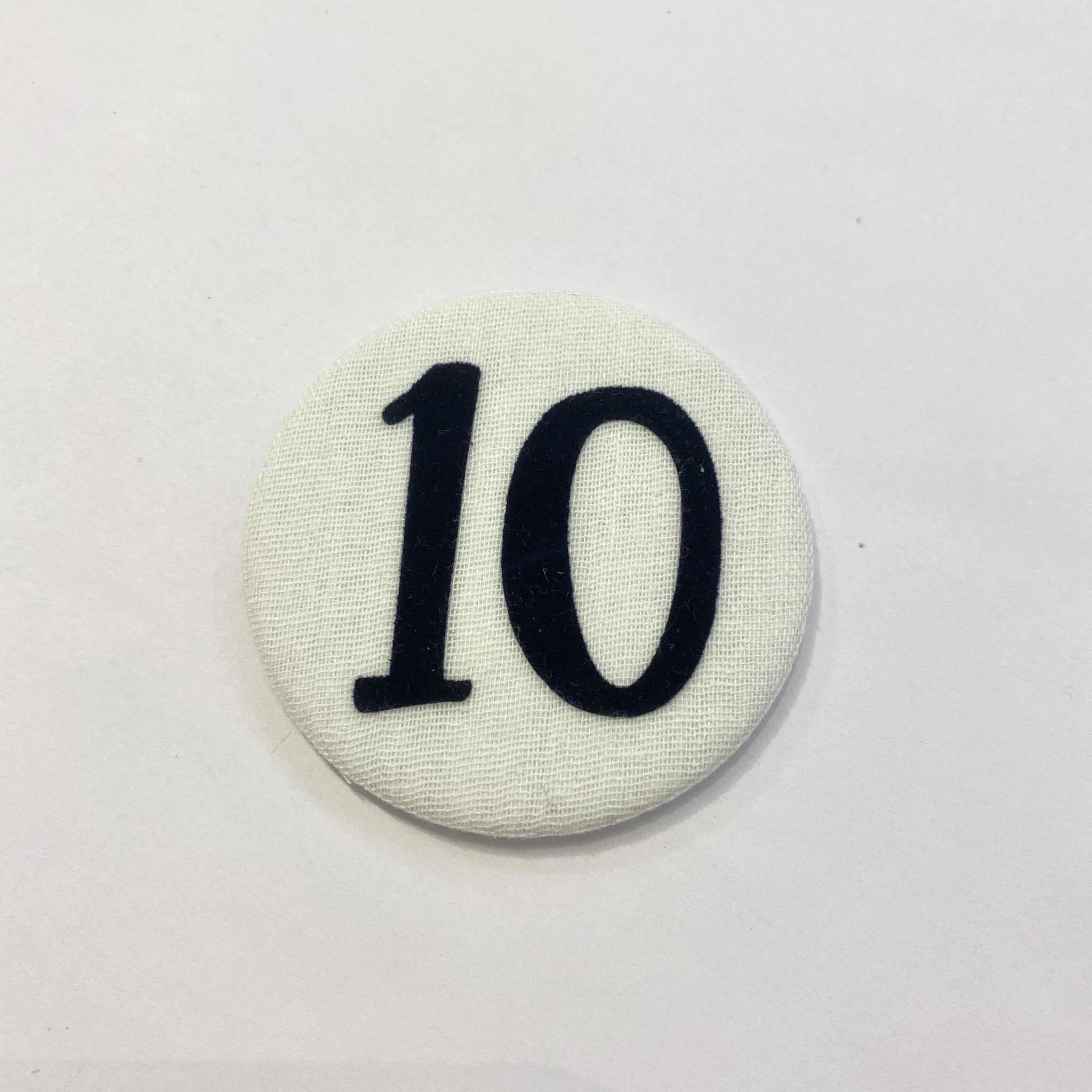 Cijferknop 10 Donkerblauw - Liezelijn-1