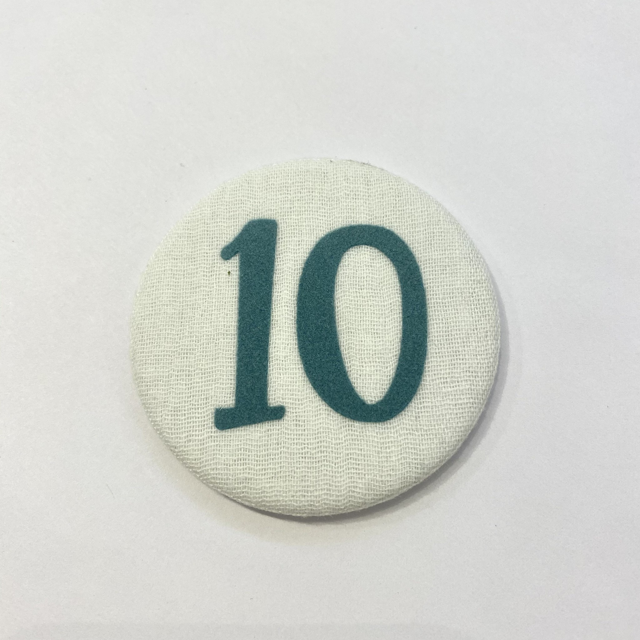 Cijferknop 10 Groen - Liezelijn-1