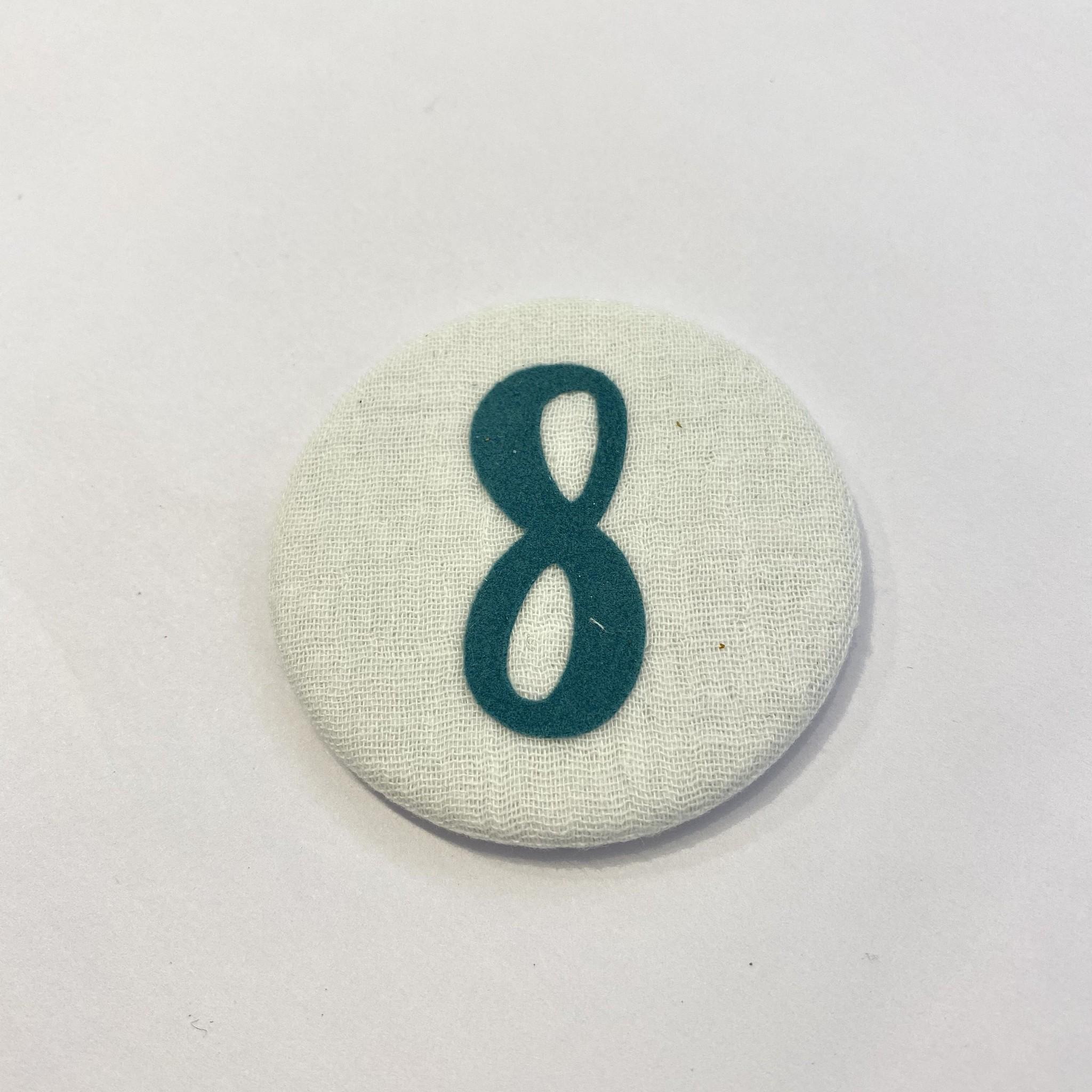 Cijferknop 8 Groen - Liezelijn-1