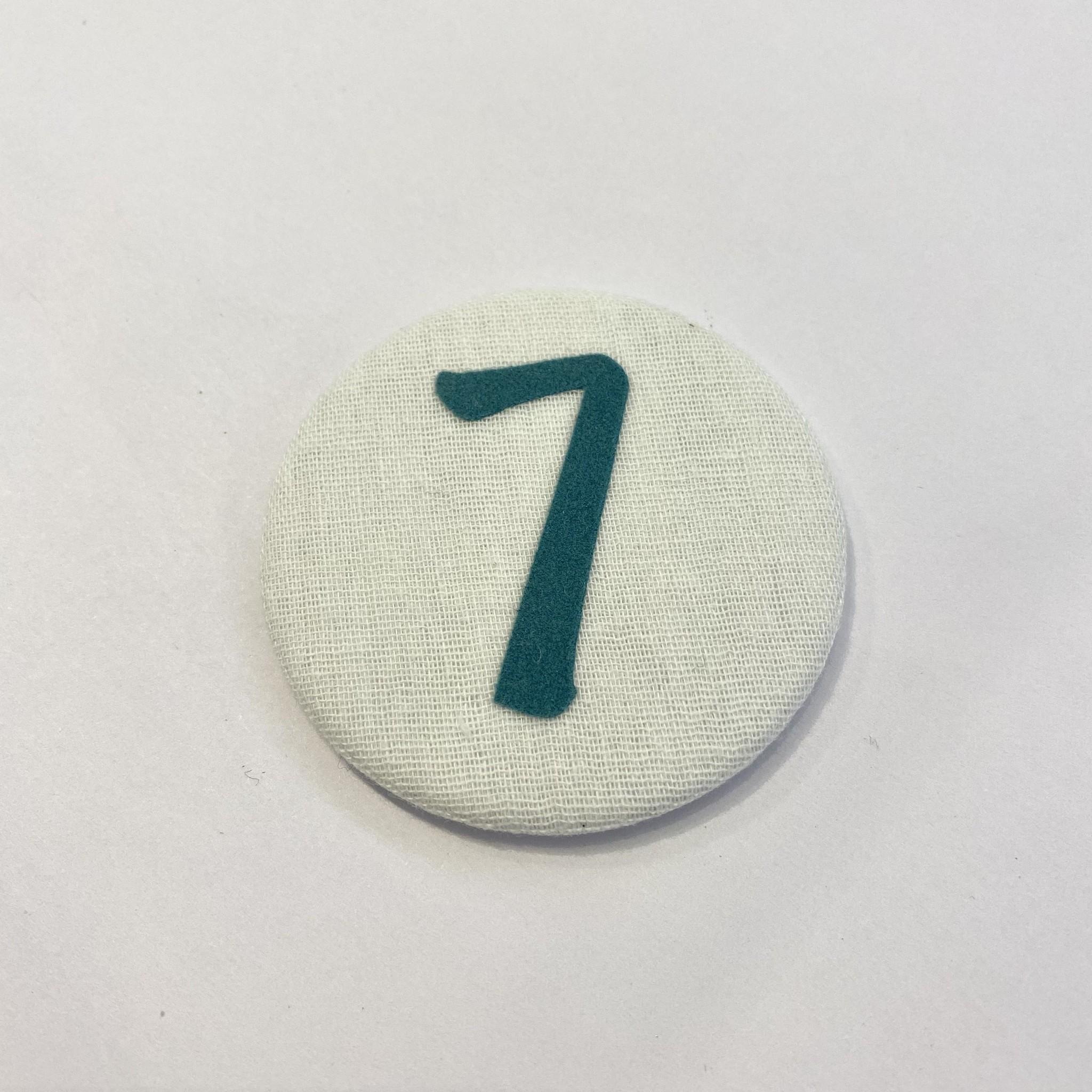 Cijferknop 7 Groen - Liezelijn-1