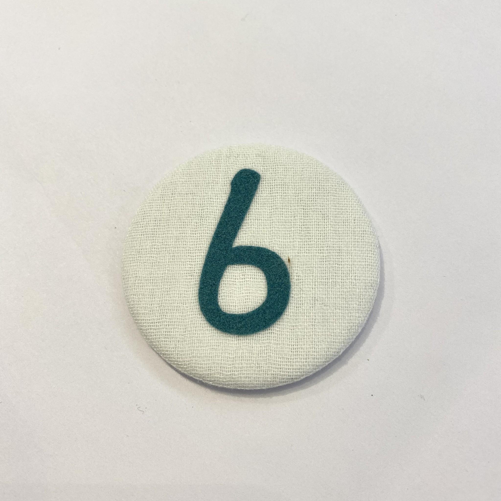 Cijferknop 6 Groen - Liezelijn-1
