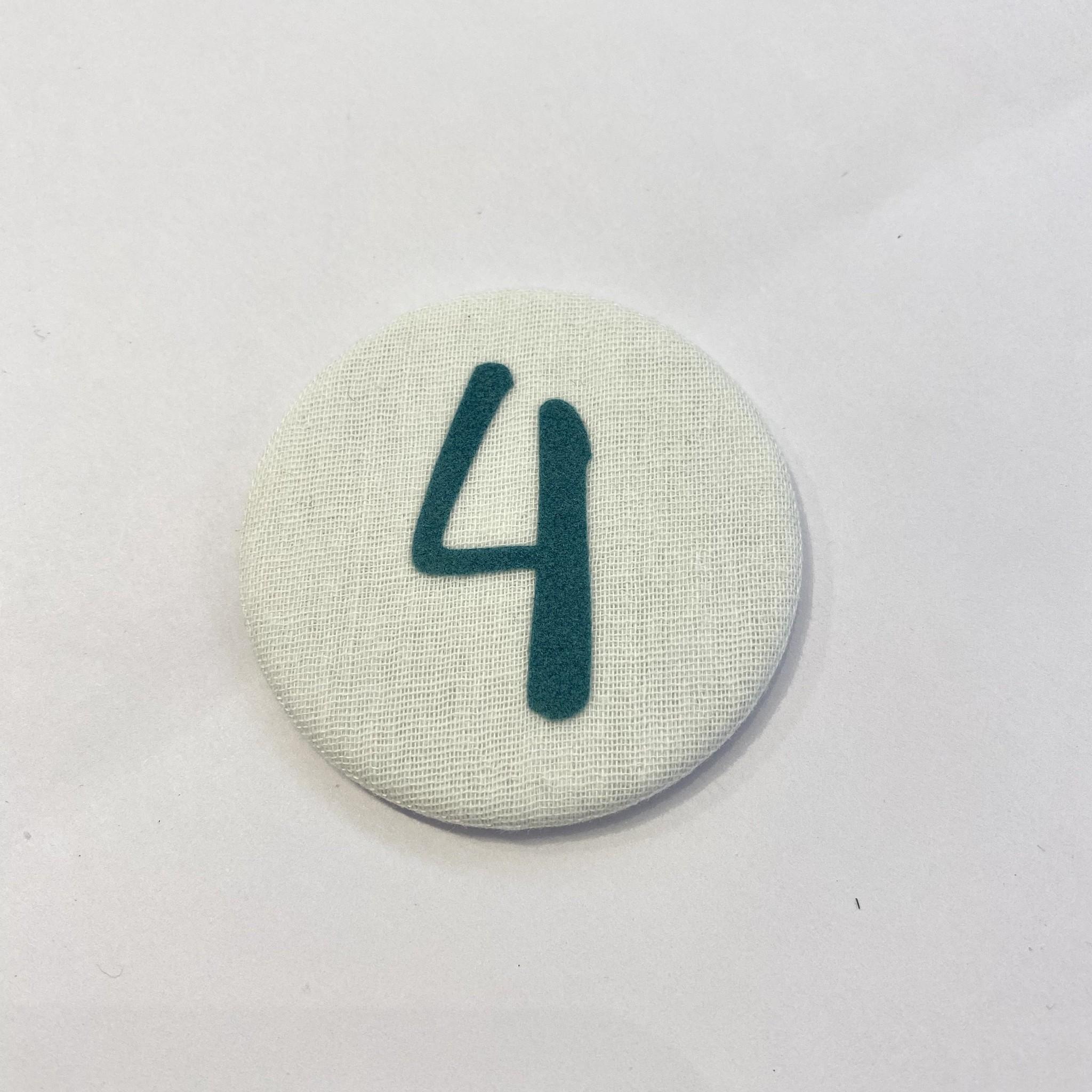 Cijferknop 4 Groen - Liezelijn-1