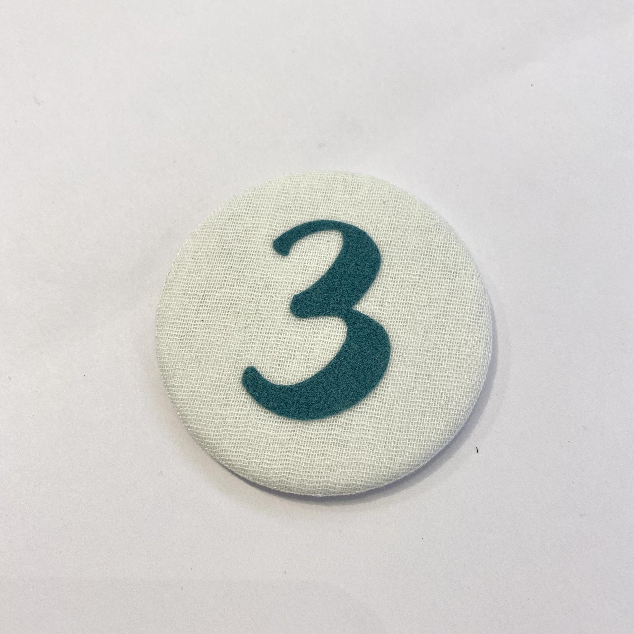Cijferknop 3 Groen - Liezelijn-1