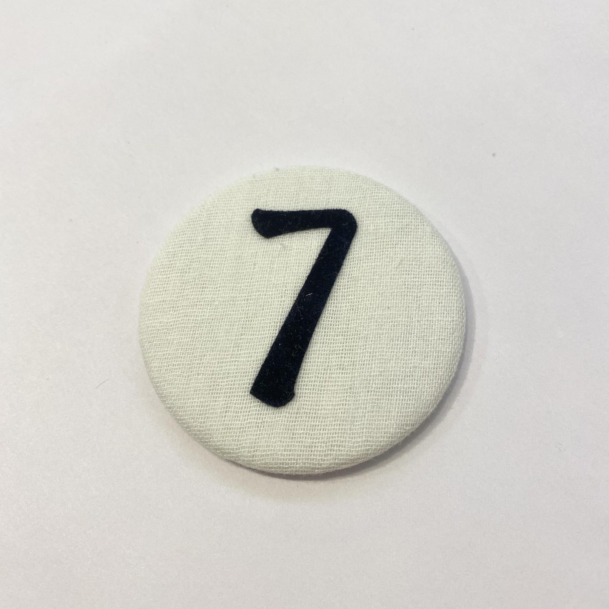 Cijferknop 7 Donkerblauw - Liezelijn-1