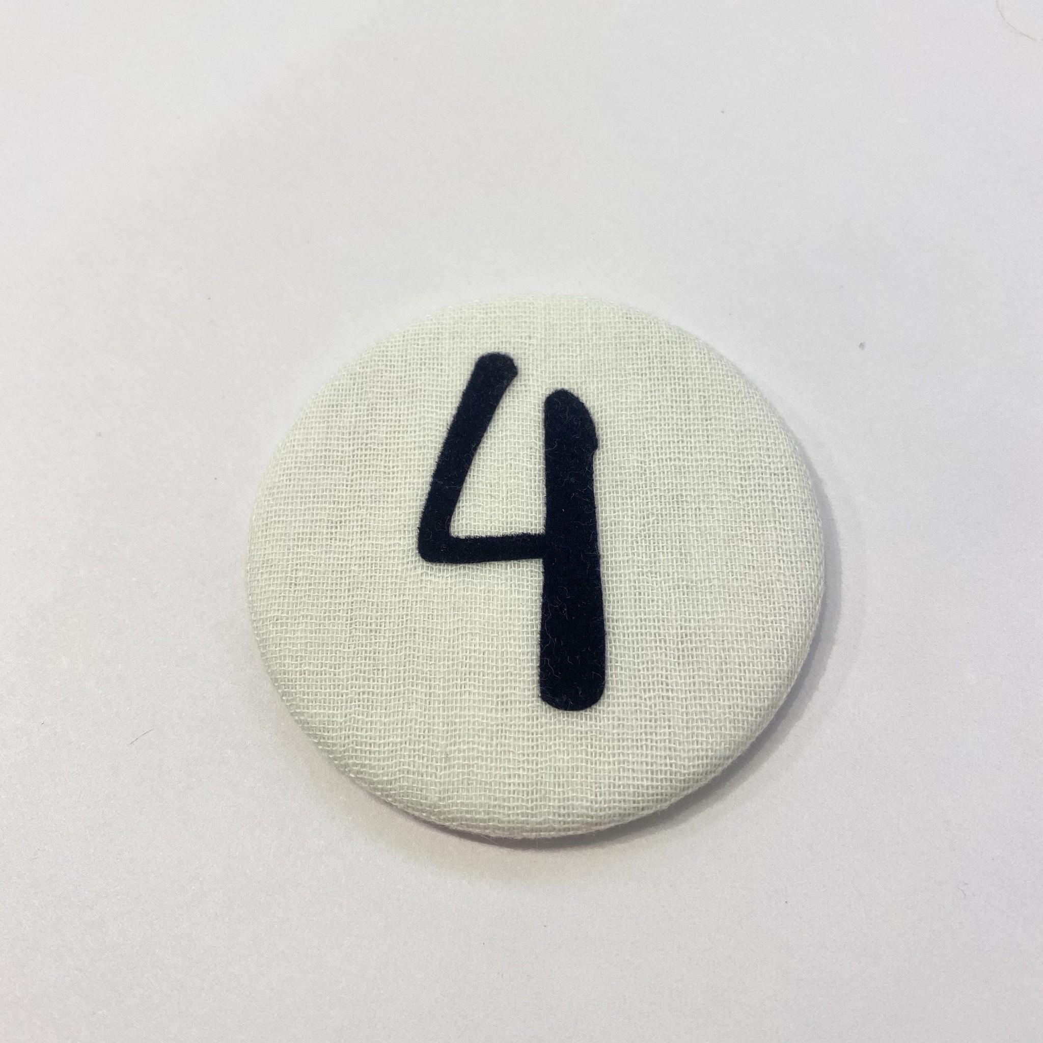 Cijferknop 4 Donkerblauw - Liezelijn-1