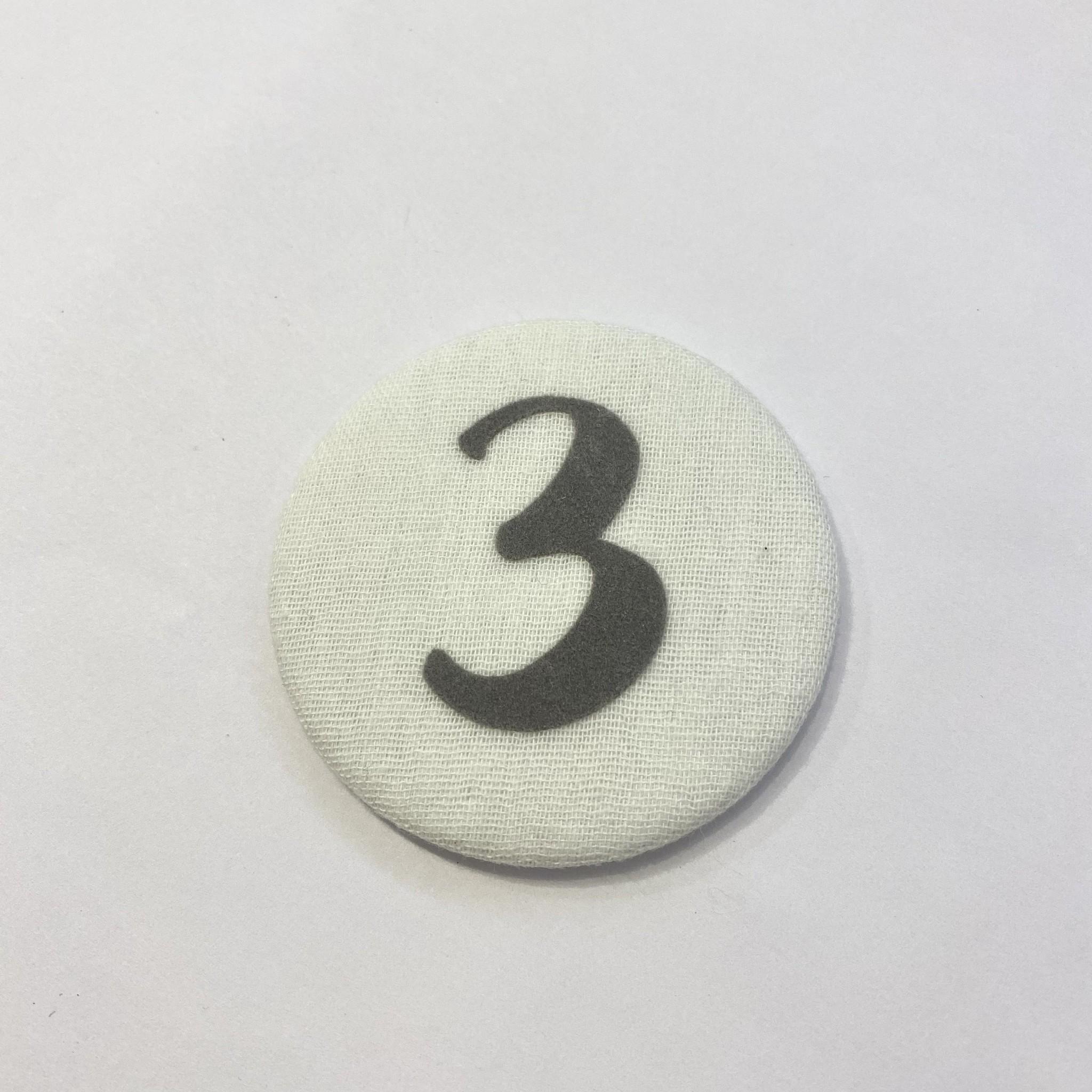 Cijferknop 3 Grijs - Liezelijn-1