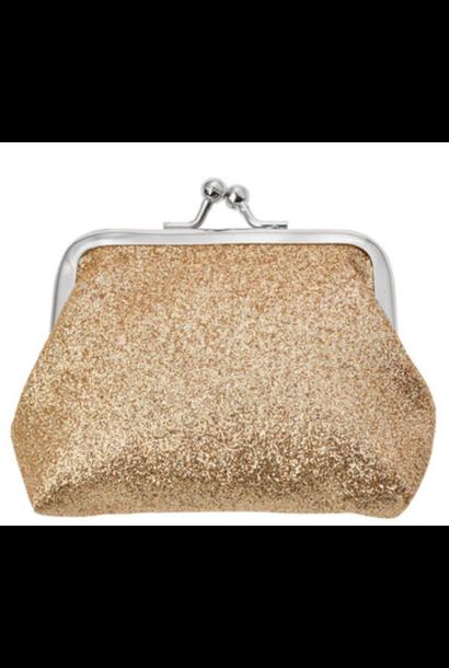 Wallet Glitter Gold