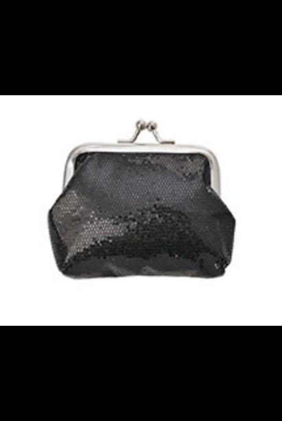 Portemonnee Glitter Zwart