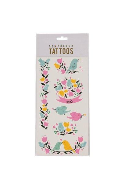 Tijdelijk Tattoos - Love Birds