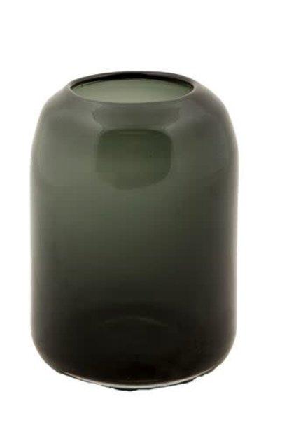 Vaas Glas Zwart