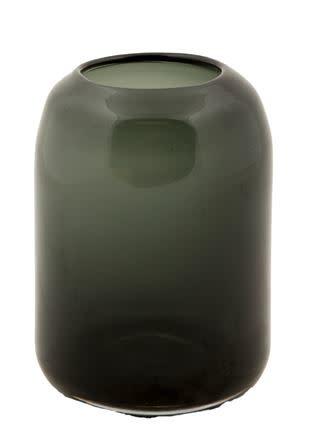 Vaas Glas Zwart - Mrs BLOOM-1