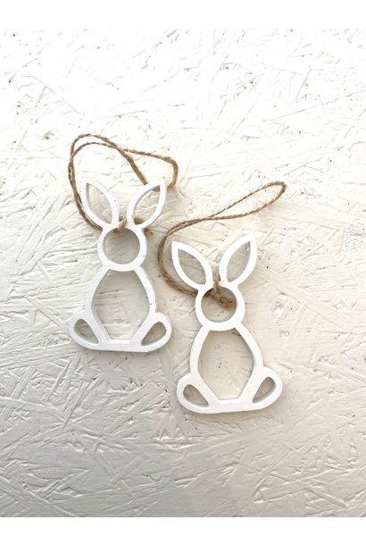 Wooden Hanger Rabbit