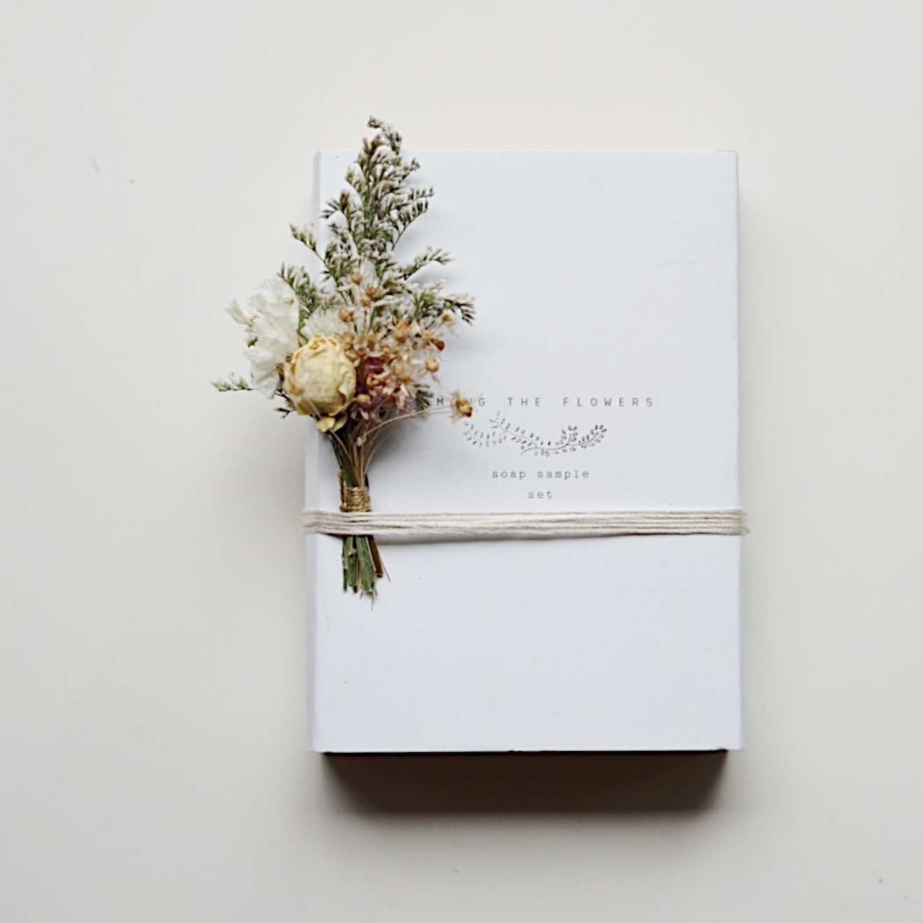 Cadeauset zeep - Among The Flowers-2