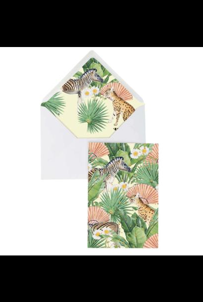 Greeting Card - Flower Garden