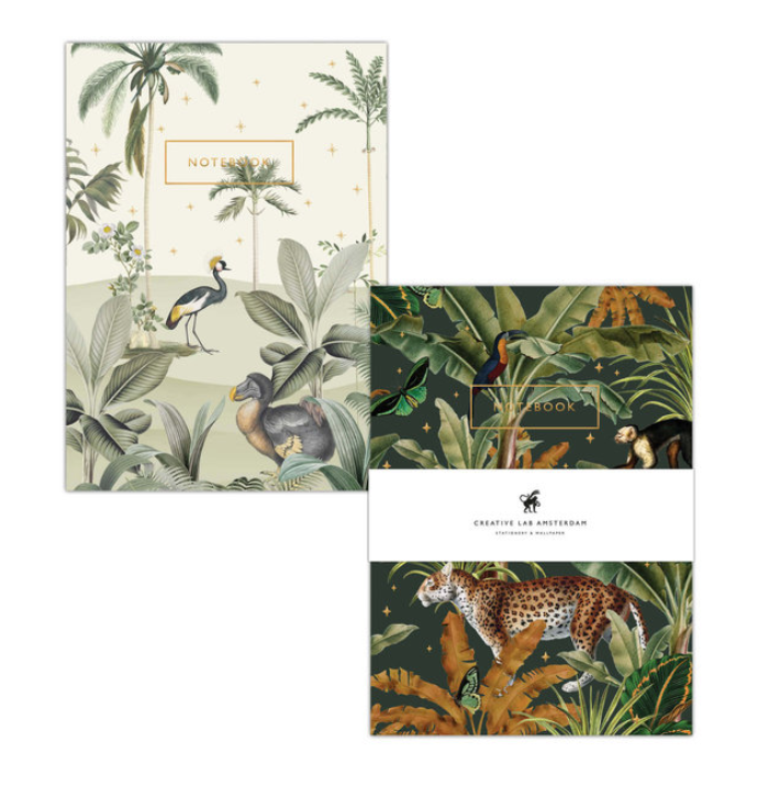 Notebook Set Dodo / Mighty Jungle - Creative Lab-1