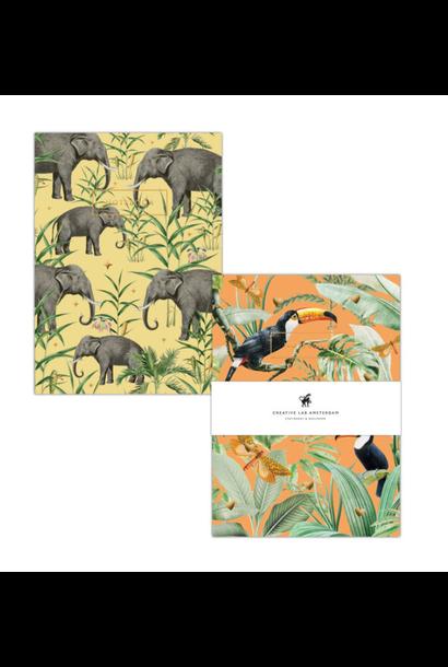 Notitieboek Set Toucans / Oscar