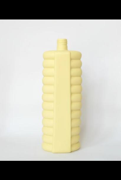 Porseleine Flesvaas Geel #10 yellow