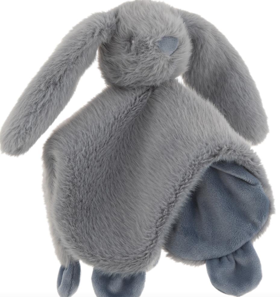 Doudou konijn blauw - J-Line-1