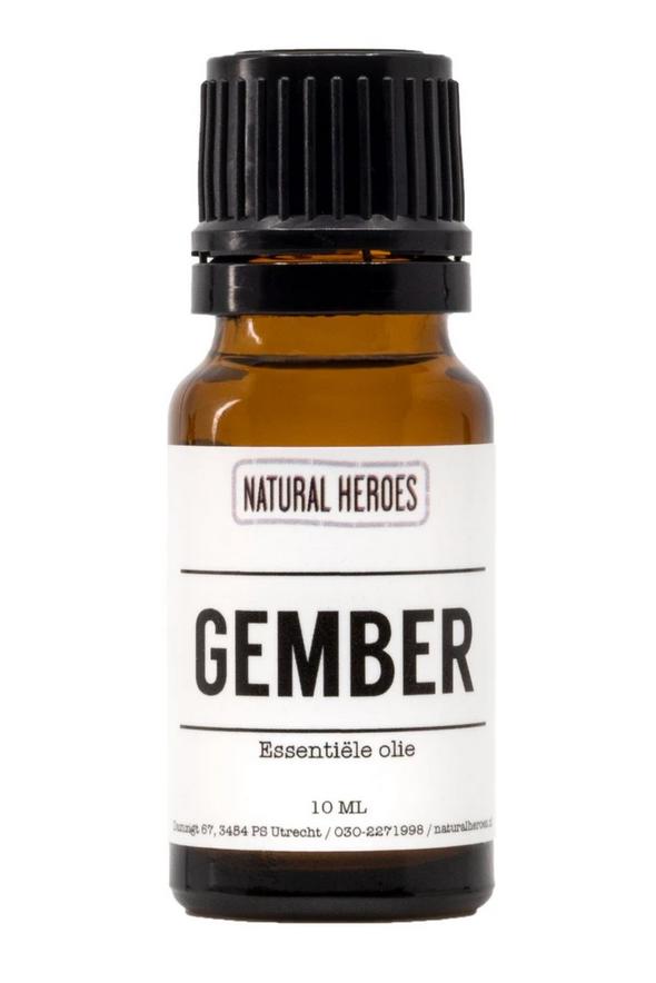 Essentiële Olie - Gember - Natural Heroes-1