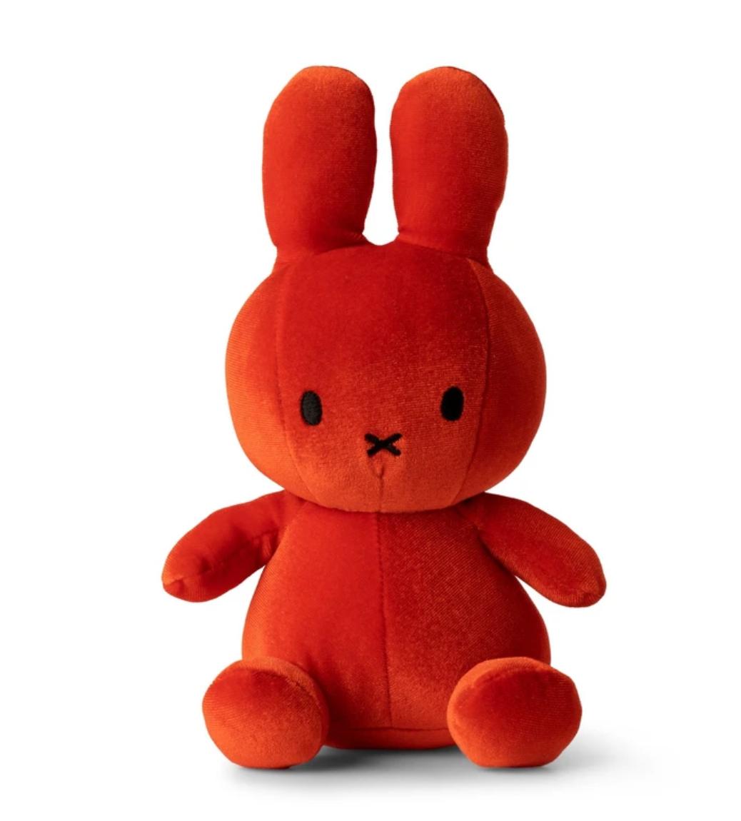Nijntje Fluweel Rood - Nijntje Miffy-1