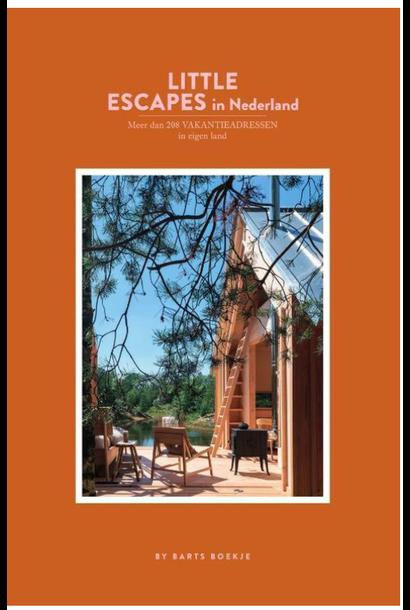 Boek - Little Escapes - 208 vakantieadressen in Nederland