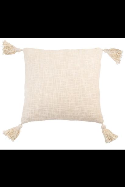 Cushion Nude with tassel