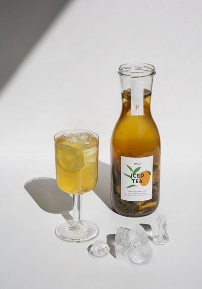 Iced Tea - gedroogde mango & groene thee - Pineut-2