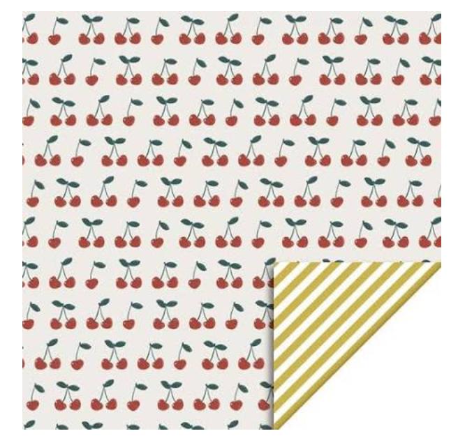 Inpakpapier Kersen - House Of Products-1