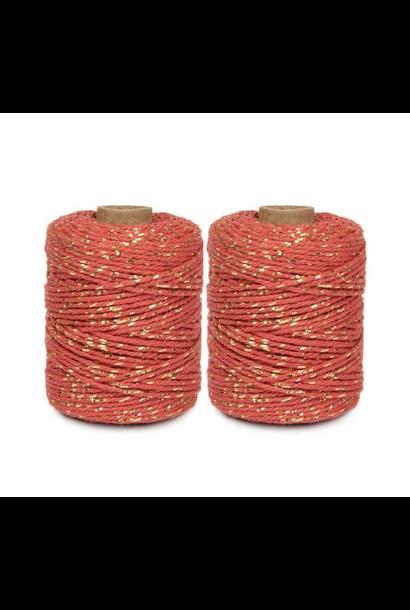 Rope Terracotta Gold