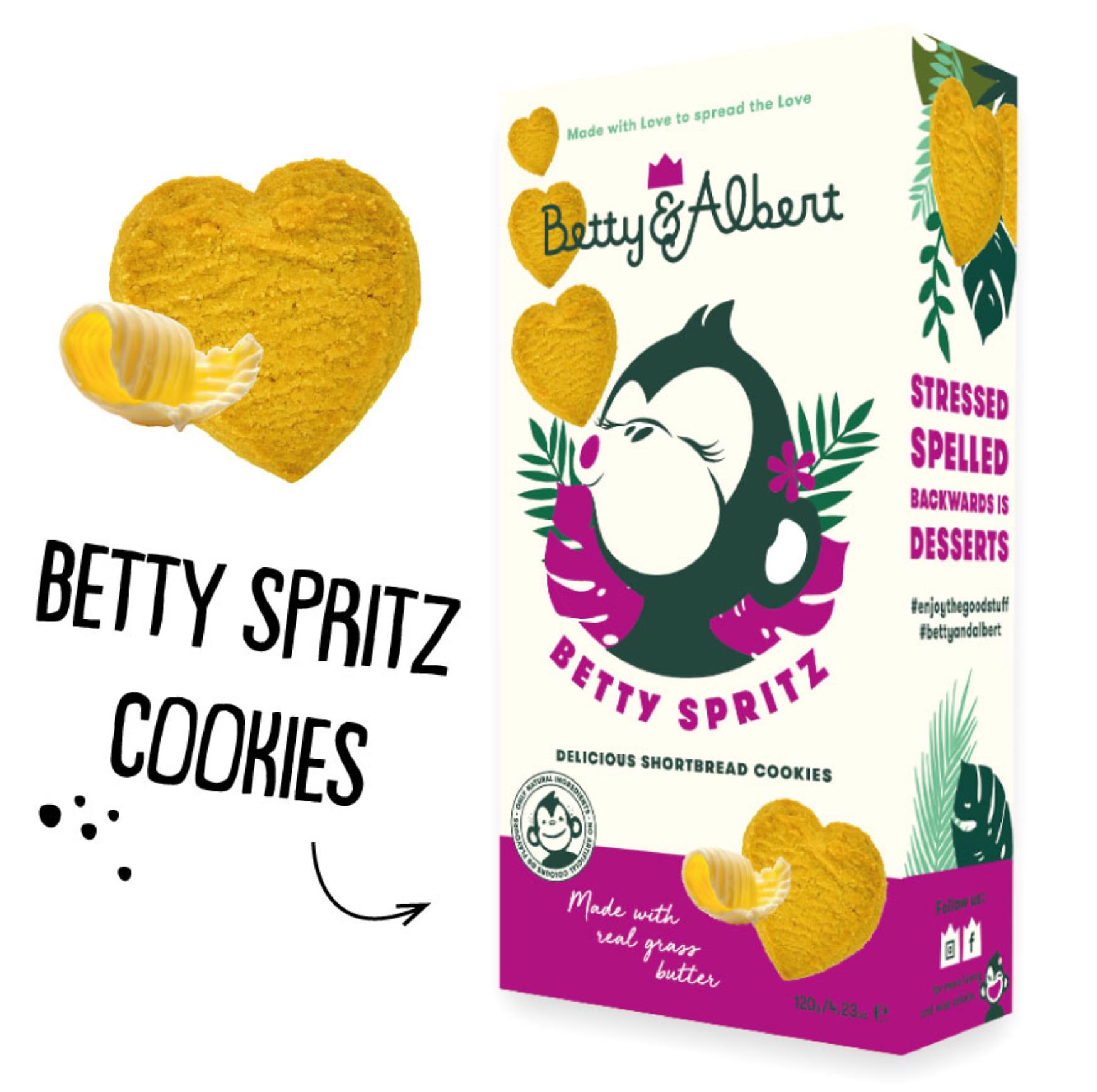 Betty Spritz Cookies - Betty & Albert-1