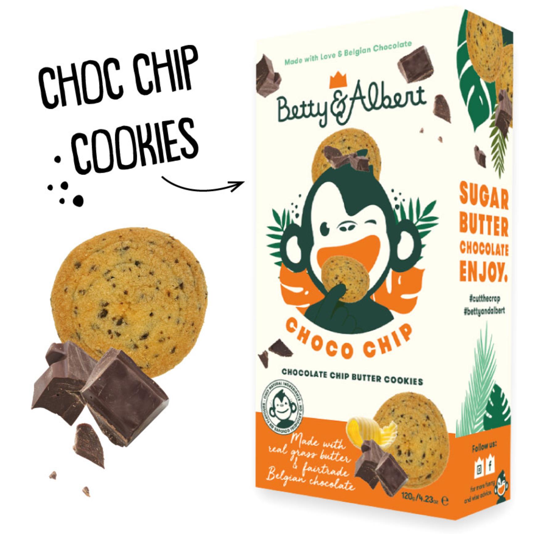 Choco Chip Cookies - Betty & Albert-1