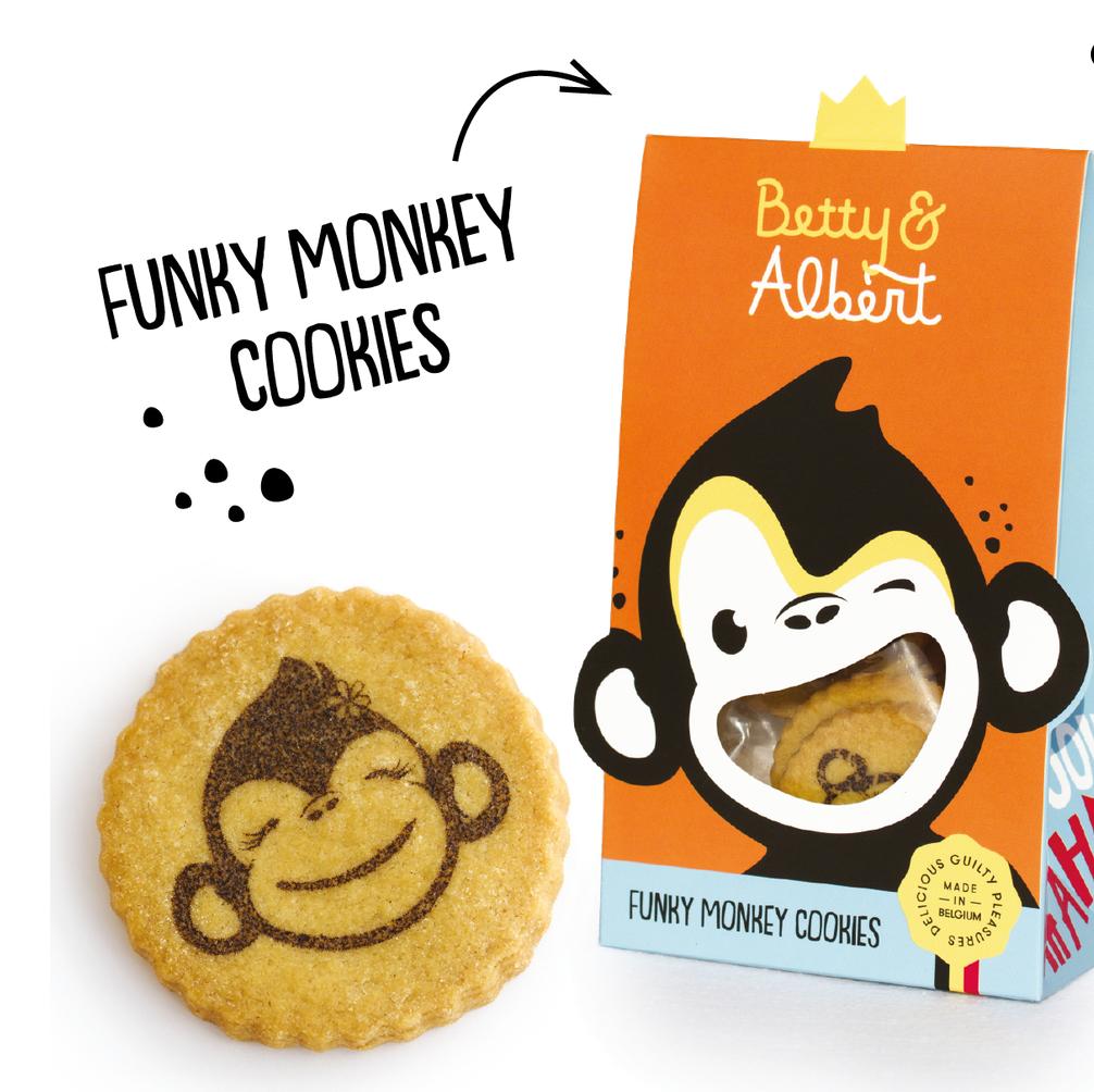 Funky Monkey Cookies - Betty & Albert-1